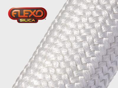 Gaine Tressée en fibre de silice Flexo Silica